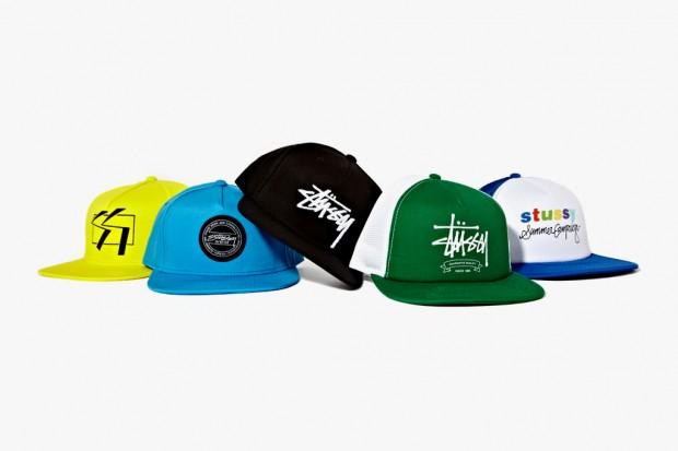 stussy 春夏/这一字排开的鲜艳帽款,来自美国街头品牌Stussy