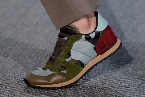Valentino 2013春夏系列迷彩鞋款发表