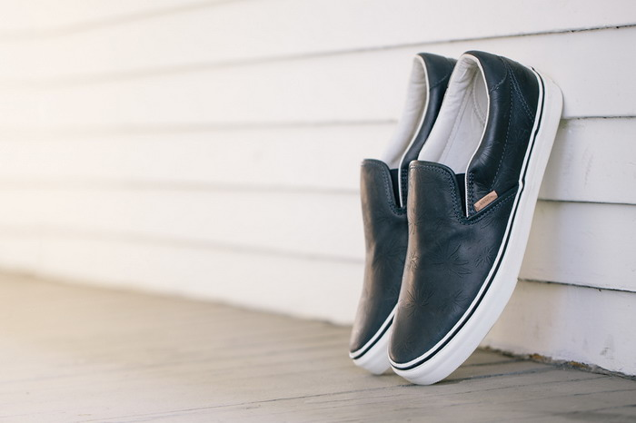 系列 vans palm lx leather leaf/Vans