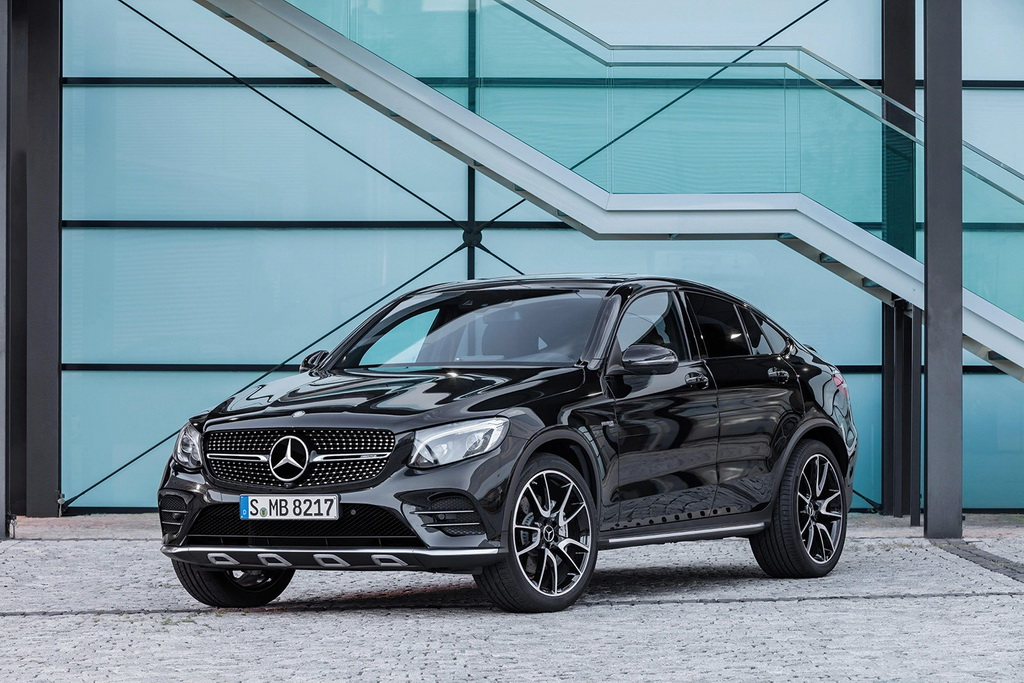 Mercedes-AMG 发布 GLC 43 4MATIC Coupe