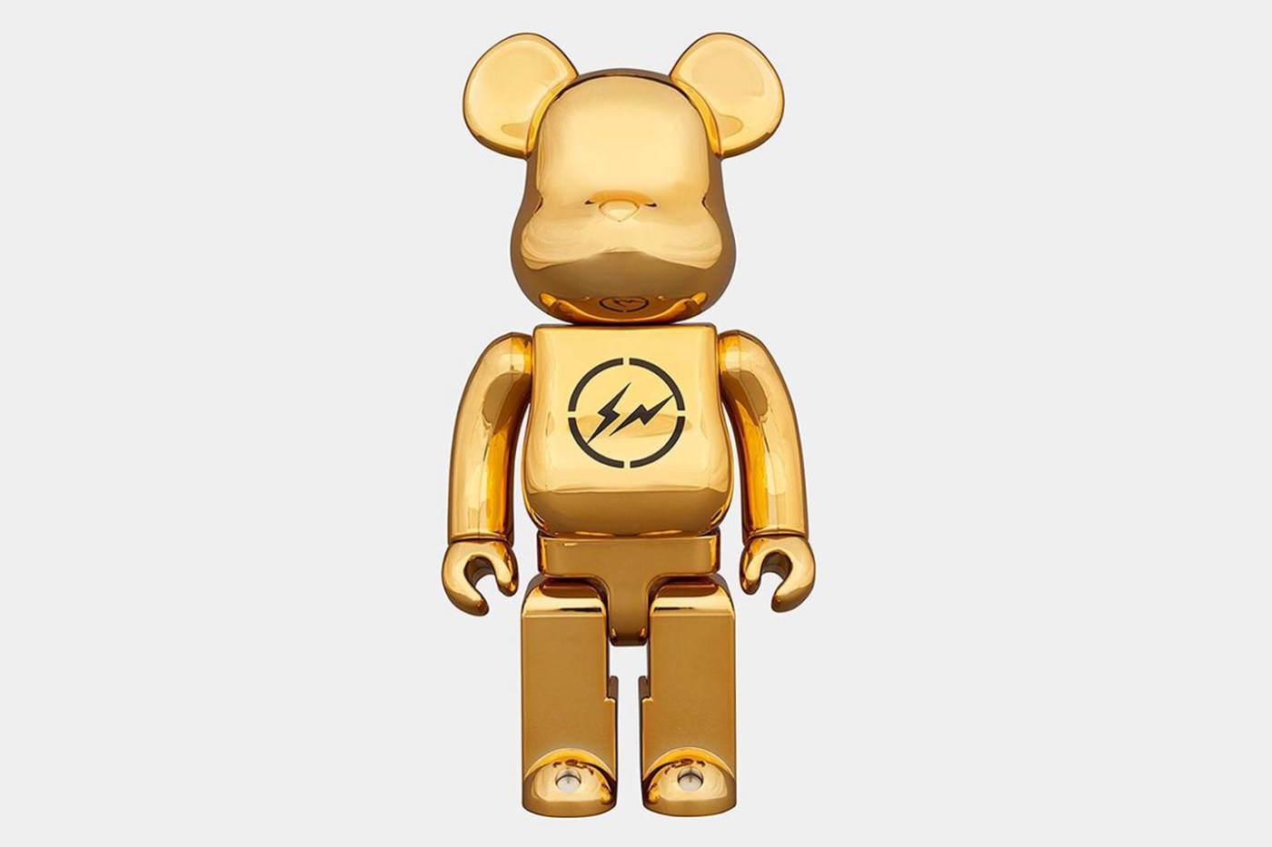 THE CONVENI × fragment design × Medicom Toy 联名 BE@RBRICK 玩偶