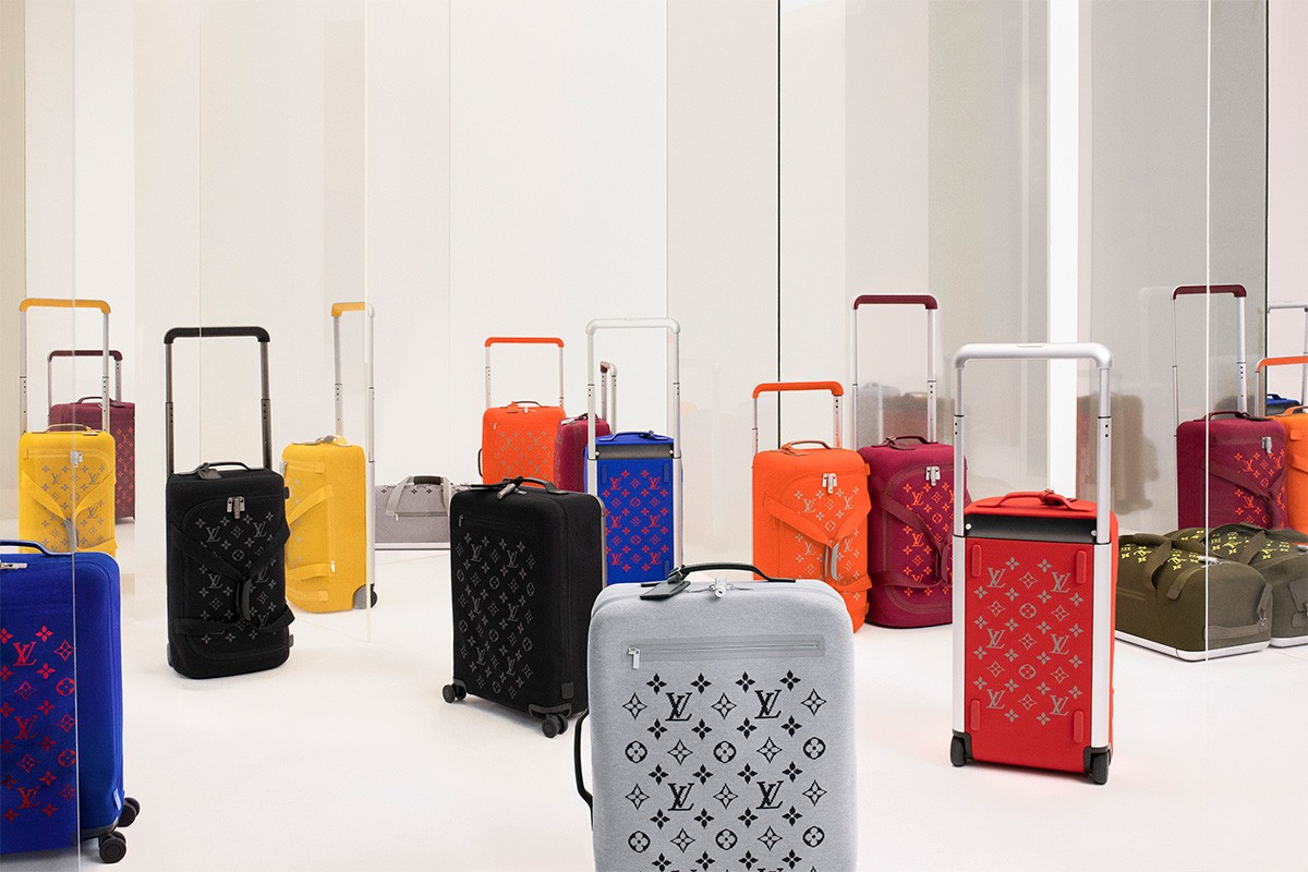 Louis Vuitton × Marc Newson 行李箱系列 Horizon Soft 全新配色登场