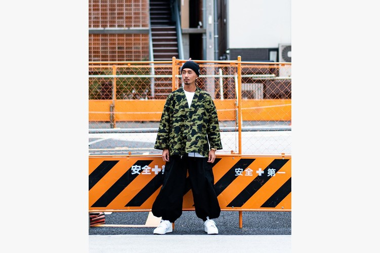 重塑寅壱鳶服-A BATHING APE 推出自家版本 Tobi 裤款